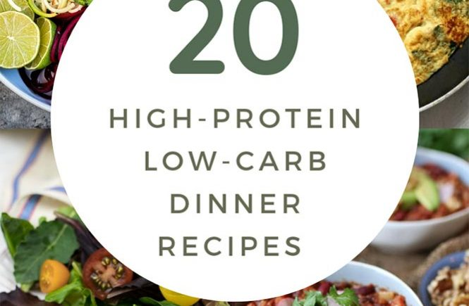 20 High-Protein Low-Carb Dinner Recipes