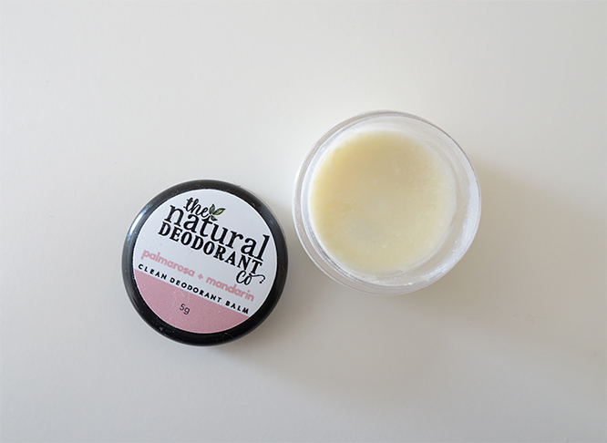 The Natural Deodorant Co. Clean Deodorant Balm