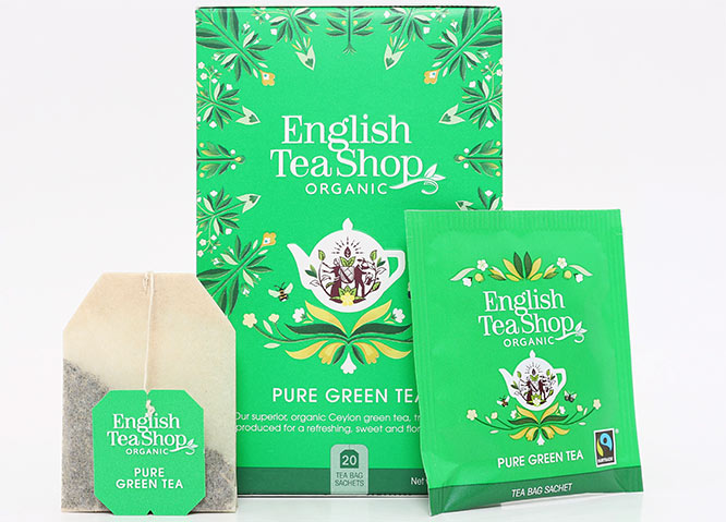 English Tea Shop organic green tea