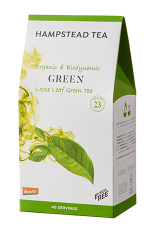 Hampstead Organic Green Tea - loose leaf