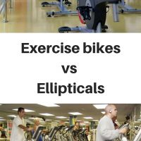Exercise bikes vs Ellipticals