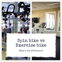 Spin bike vs. regular exercise bike: What's the difference and which one should you use?
