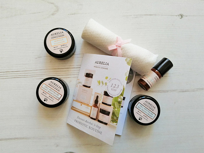 Aurelia Skincare - sample products