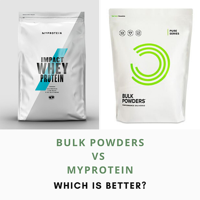 bulk powders vs myprotein