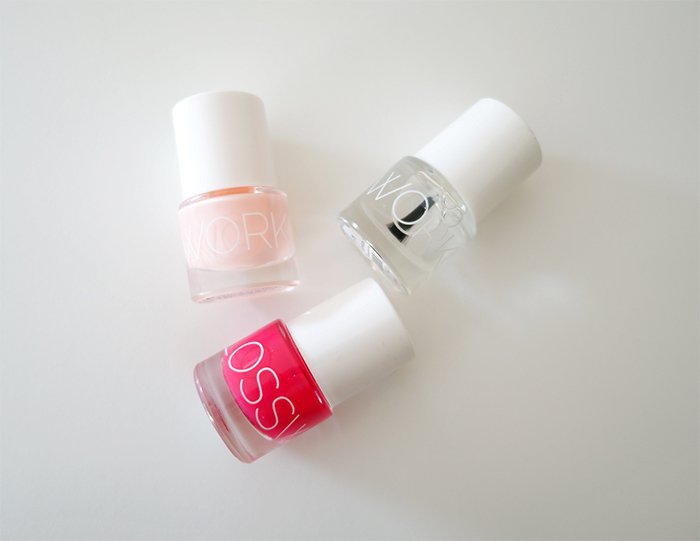 Glossworks nail polishes