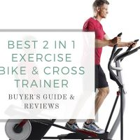 What is the best 2 in 1 exercise bike and cross trainer?