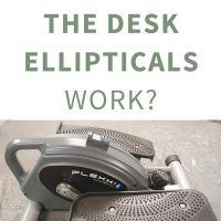 Do under the desk ellipticals work?